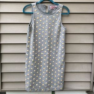 Juicy Couture Grey Polka Dot Dress
